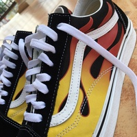 Vans - Flame Old Skool, Size 11