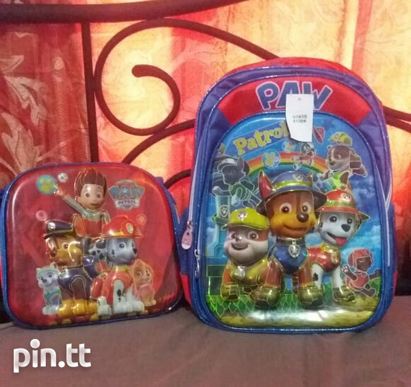Book bag and lunch bag-1
