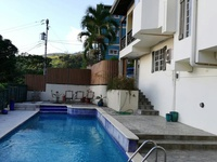Carnival accommodation, whole house with pool