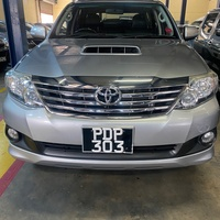 Toyota Fortuner, 2017, PDP