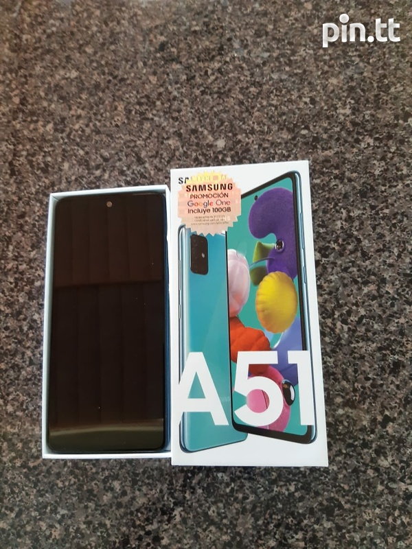 Aamsung a51 128gb mint condition-1
