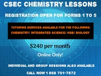 Science Lessons Forms 1-5