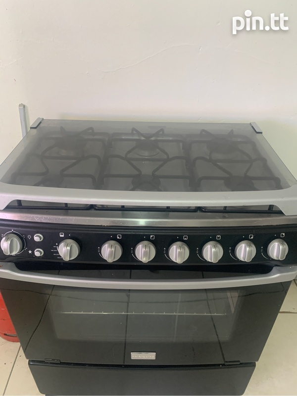 Frigidaire 6 burner gas stove with igniter-1