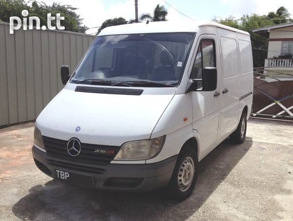 2002 Mercedes Benz Sprinter van-6
