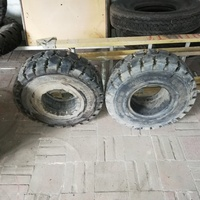 Package deal on forklift and industrial tyres