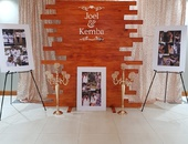 Vintage Photo Wall / Welcome Board