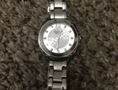 Womens Silver Coach Watch