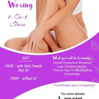 Full Body Wax Course