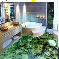 Paint specialise Painting Floor and walls with look of tiles