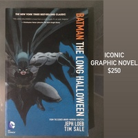 Batman The Long Halloween Graphic Novel