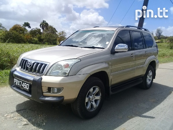 Toyota Land Cruiser Prado, 2005, PBX-1