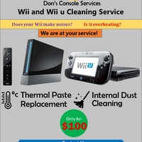 Nintendo Wii U and Wii cleaning