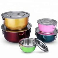 5 Pc Stainless Steel Pot Set