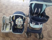 Graco carseat and stroller combo .