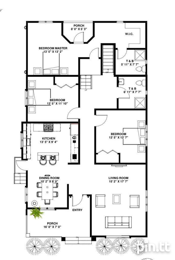 Luxurious 3 bedroom South homes in gated community.-3