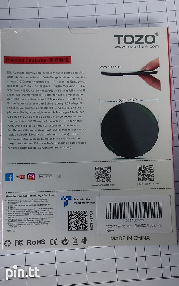 Tozo Wireless Charger-2