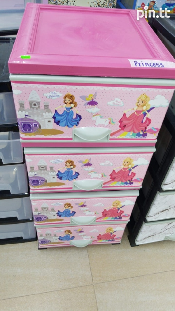 Plastic Chest of Drawers-8