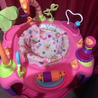 Activity Table, bouncer , ball