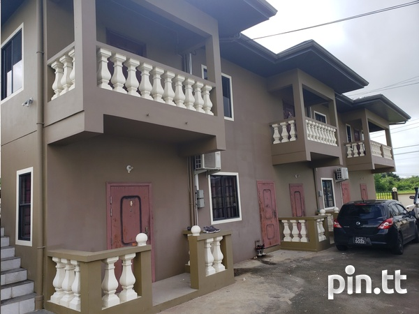 COUVA UNFURNISHED 2 BEDROOM APARTMENT-1