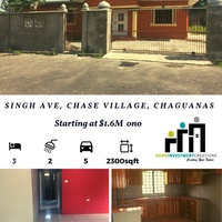 3 Bedroom Apartment Singh Drive Chase Village Chaguanas