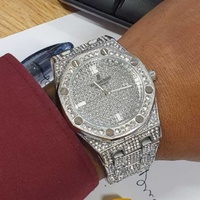 Audemars Piguet Diamond Silver Watch