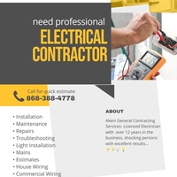 Licensed Electrician 12+ years 24hr Emergency Services