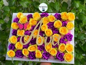 Customizable Flower Name Plates