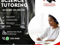 One-on-one Science Tutoring