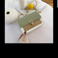 Cute crossbody small bags with metal chain