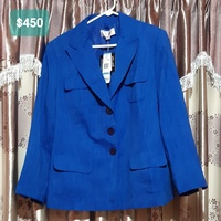 Women Plus Size Work Suit