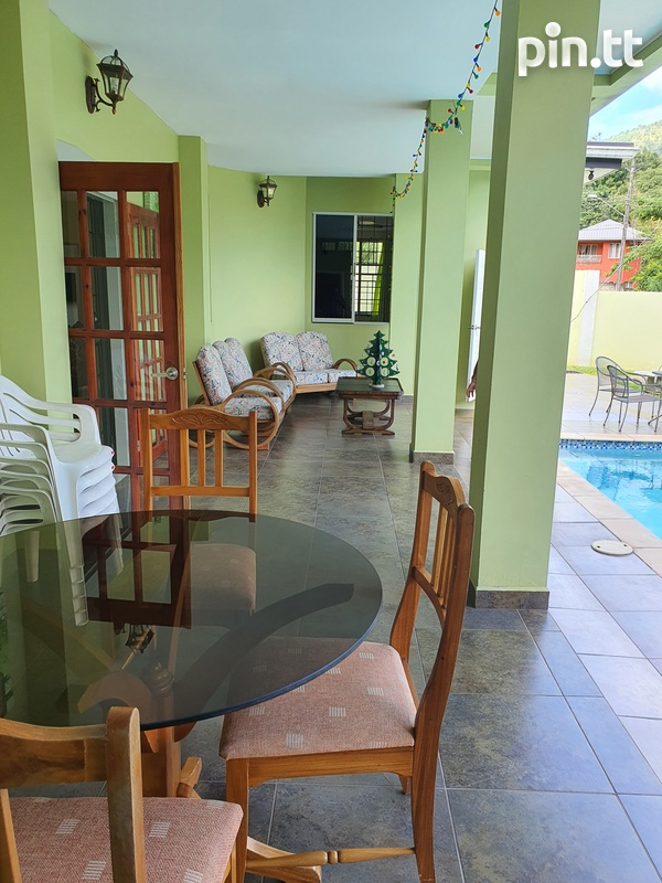 St.Joseph, Chaconia Terrace 4 Bedroom House-8
