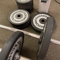 Weights, Barbells and Rack - Pro Gym Equipment