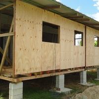 Unfinished House in Dow Village, California, Couva/Point Lisas.