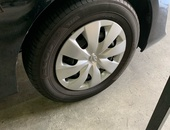 SET 14 inch - Steel Rims And Tyres - NZE121..NZE141..NZE165..AQUA