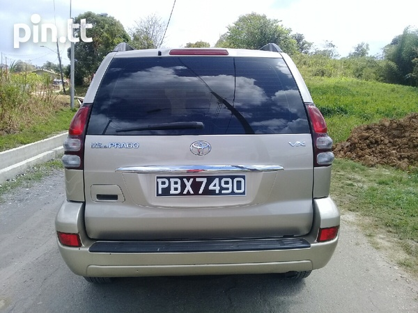 Toyota Land Cruiser Prado, 2005, PBX-5