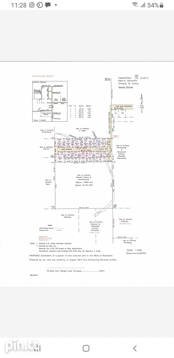 SANGRE GRANDE 2 ACRES OF LAND WITH APPROVAL FOR TOWNHOUSES-3