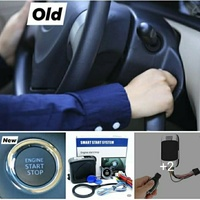 Push start ignition kit with Gps anti thieft vehicle tracking system.