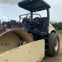 12 ton Ingersol Rand Roller with Sheepfoot kit