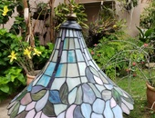 Lamp - mosaic stained glass