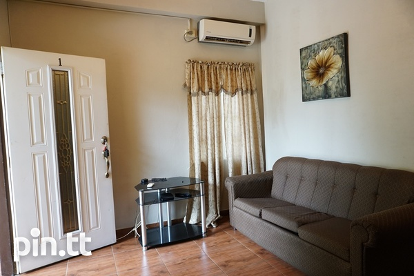 Fully Furnished Piarco One Bedroom Apartment-6