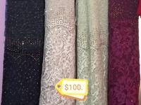 glitter wrap with lace