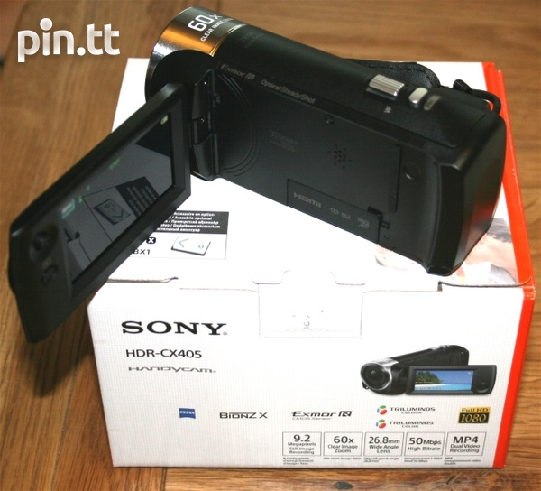 Sony HDR-CX405 Video Camera-3