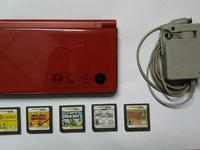 3DS XL with Circle pad pro and DSi XL