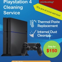 PlayStation 4/ PS4 Cleaning Service