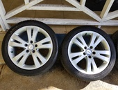 Mercedes-Benz 17 rims and tyres