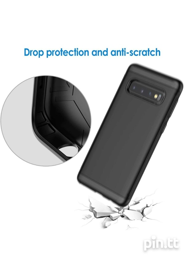 JETech Case for Samsung Galaxy S10 Dual Layer Protective Cover-5