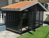 New kennel for two dogs or one dog
