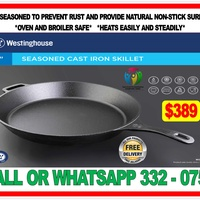 WESTINGHOUSE CAST IRONS