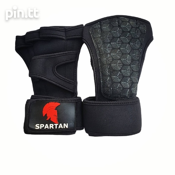 Grip Pads with Wrist wrap protection.-1