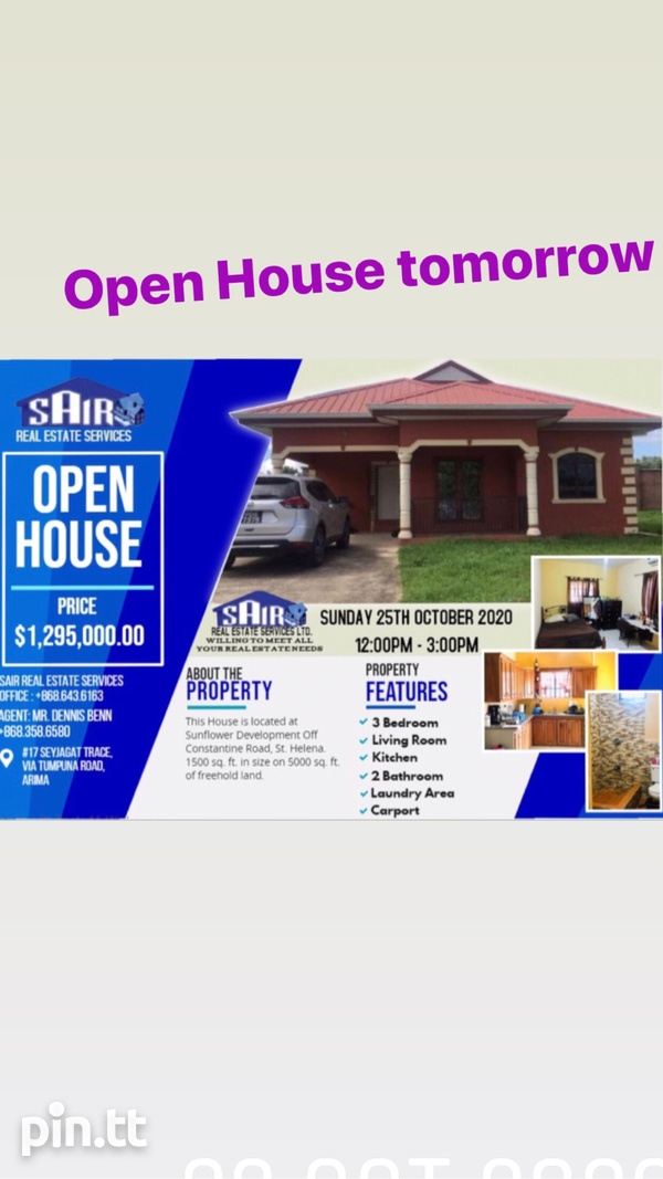 St Helena Open House